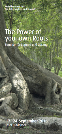 the power of your own roots